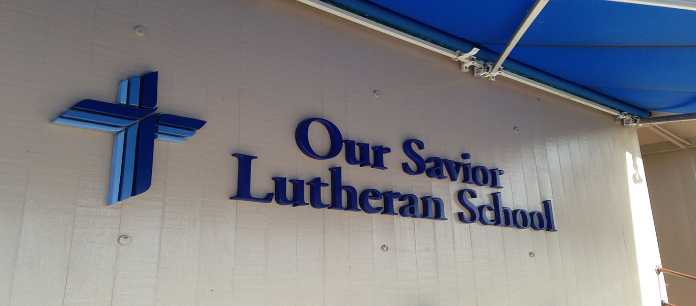 Welcome to Our Savior Lutheran School